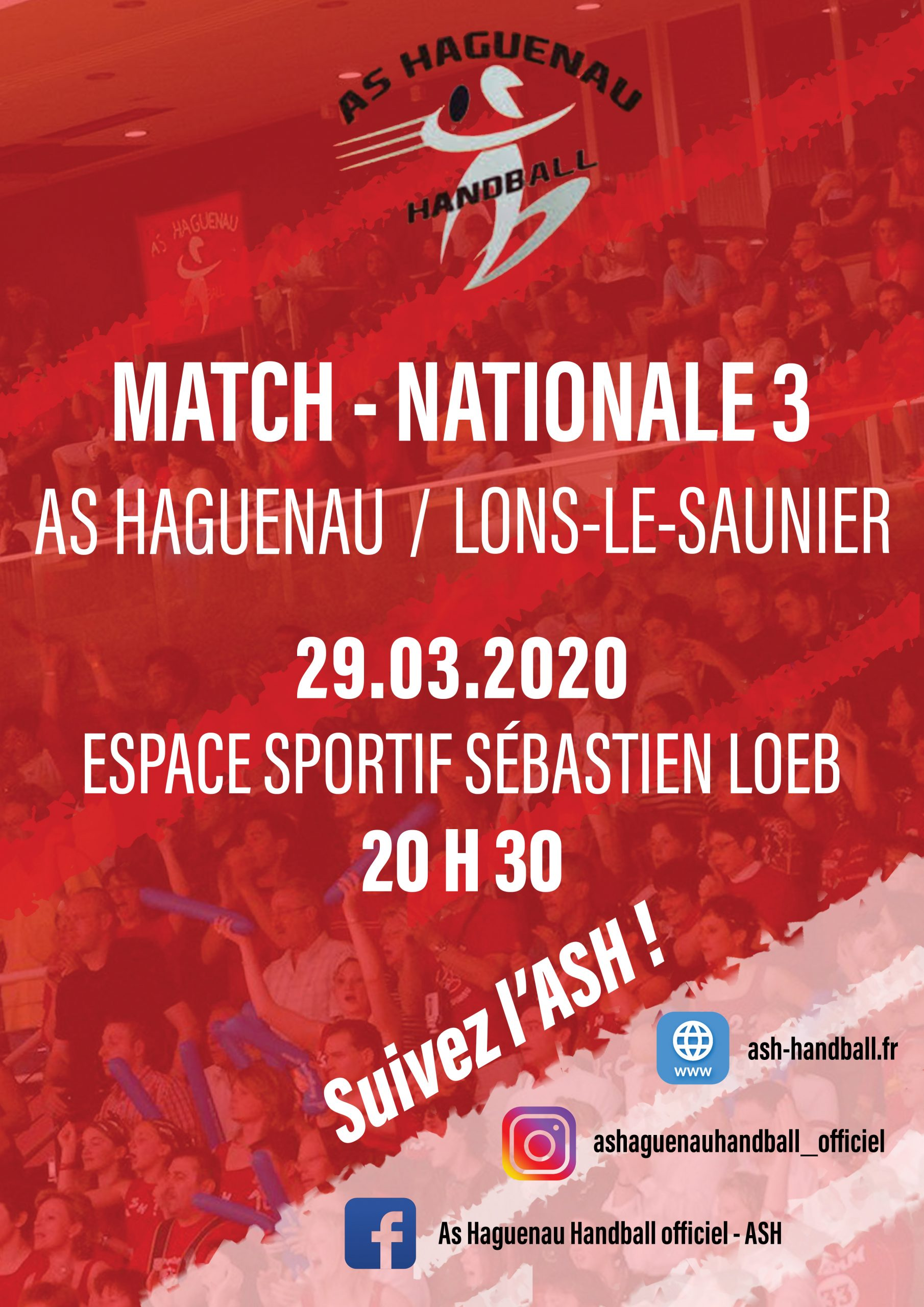 Annulé - Championnat de France National 3 de Handball