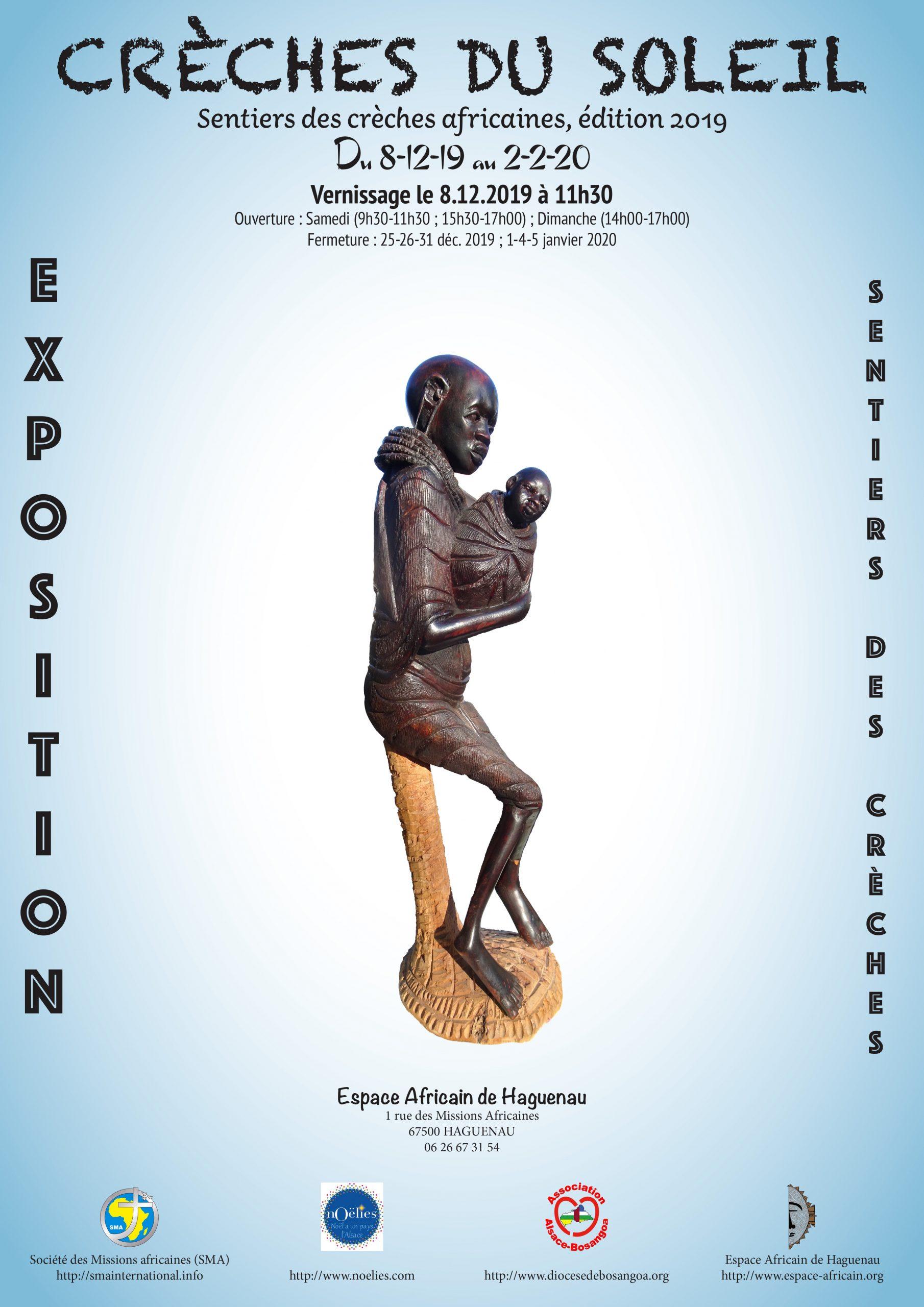 """Exposition des crèches africaines """"Les crèches du soleil"""""""
