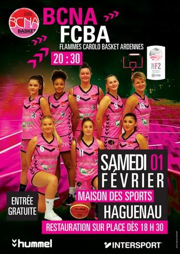 Match de basket Nationale Féminine 2