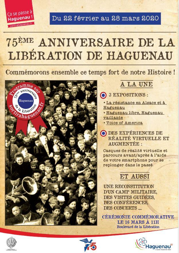 Flyer 75e anniversaire de la Libération