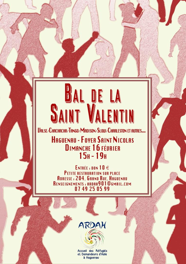 Bal de la Saint Valentin au profit de l'association ARDAH