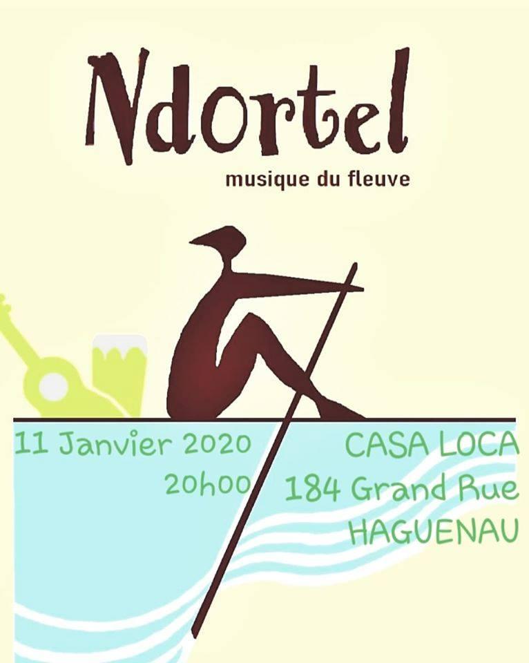 Ndortel en concert ( World music Senegal )