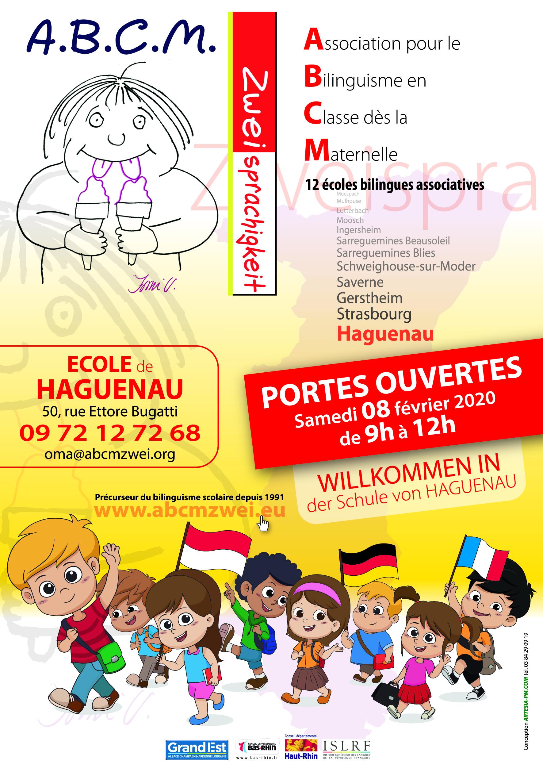 Portes Ouvertes Ecole A.B.C.M. Zweisprachigkeit