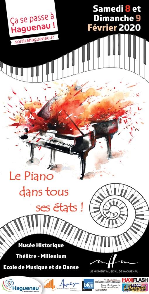 """Concert de Clôture du Festival """"Le piano dans tous ses états"""""""
