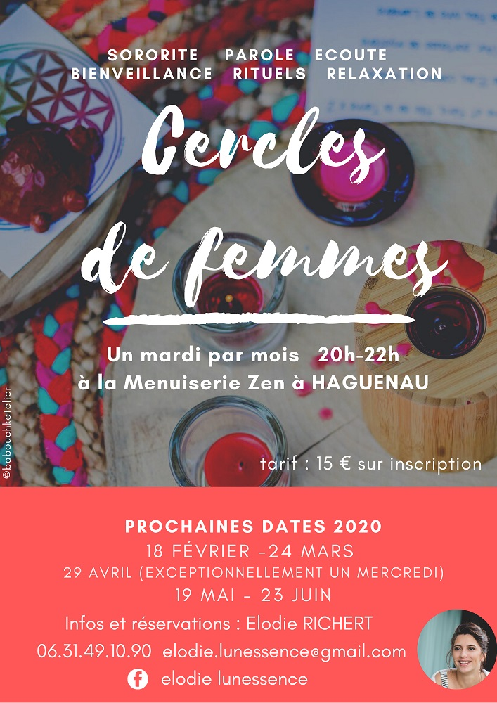 Cercle de femmes: cercle de paroles et relaxation