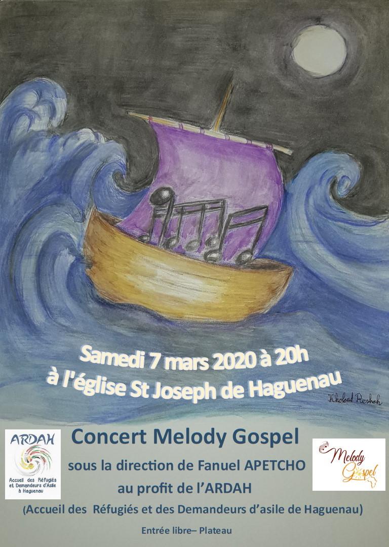 "Concert ""Melody Gospel"""