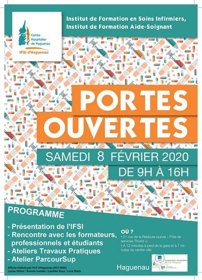 Journée Portes Ouvertes de l'IFSI-IFAS du Centre Hospitalier de Haguenau