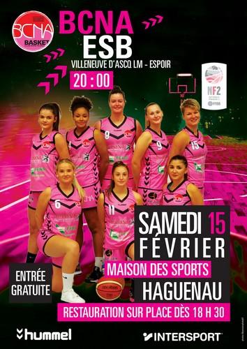 Match Basket Nationale Féminine 2