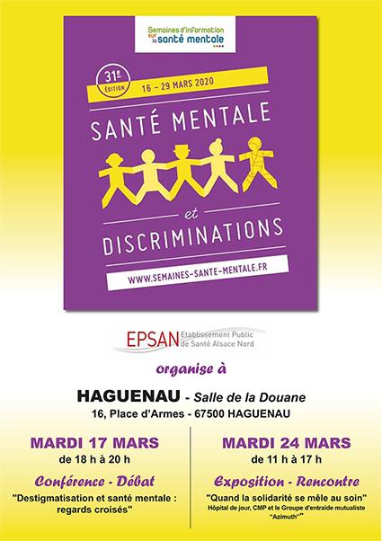 """Conférence-débat """"Déstigmatisation et santé mentale: Regards croisés"""""""