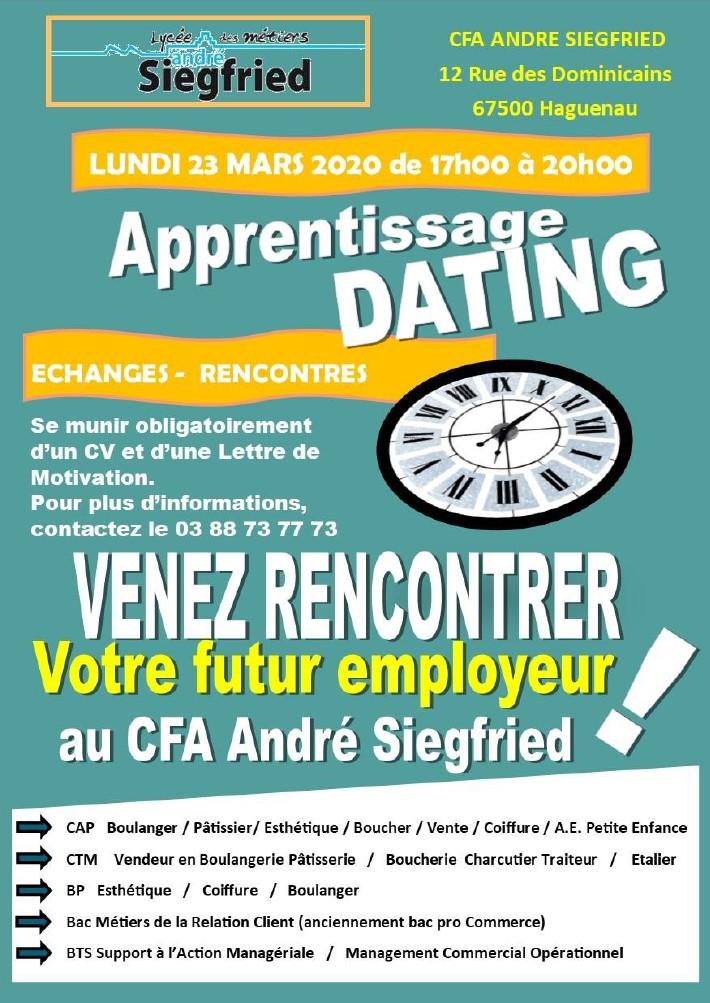 Apprentissage dating