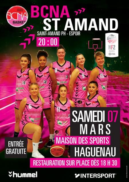 Match de basket Nationale Féminines 2