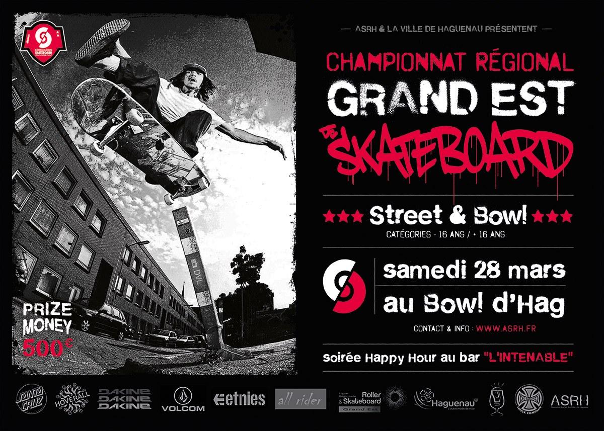 Annulé - Championnat Régional de Skateboard