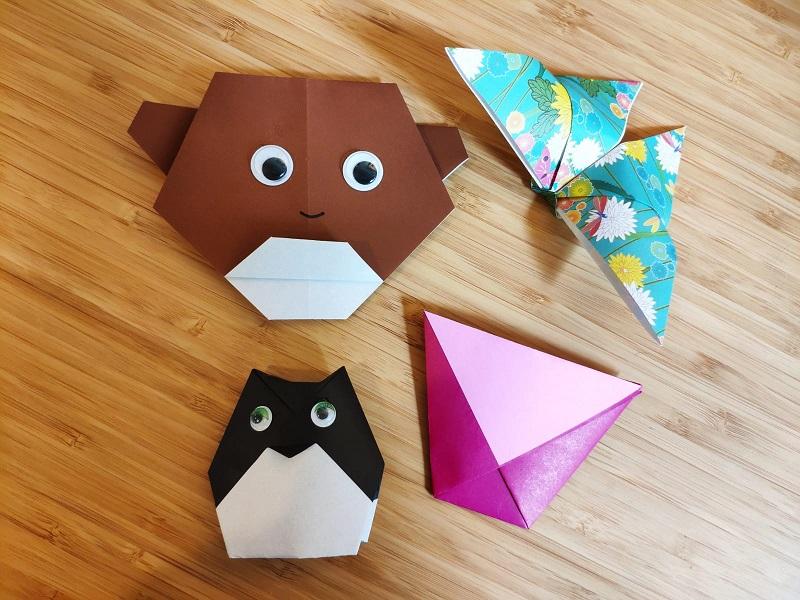 Atelier d'origami - Enfants - Niveau 1 (débutant)