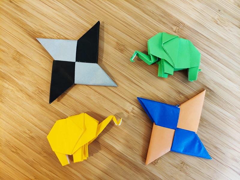 Atelier d'origami – Adultes – Niveau 1 (débutant)