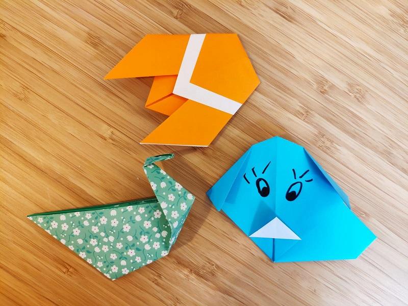 Atelier d'origami - Adultes - Niveau 1 (débutant)