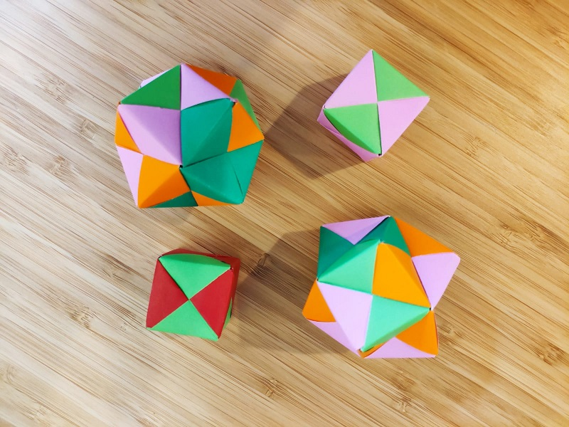 Atelier d'origami - Adultes - Niveau 2 (intermédiaire)