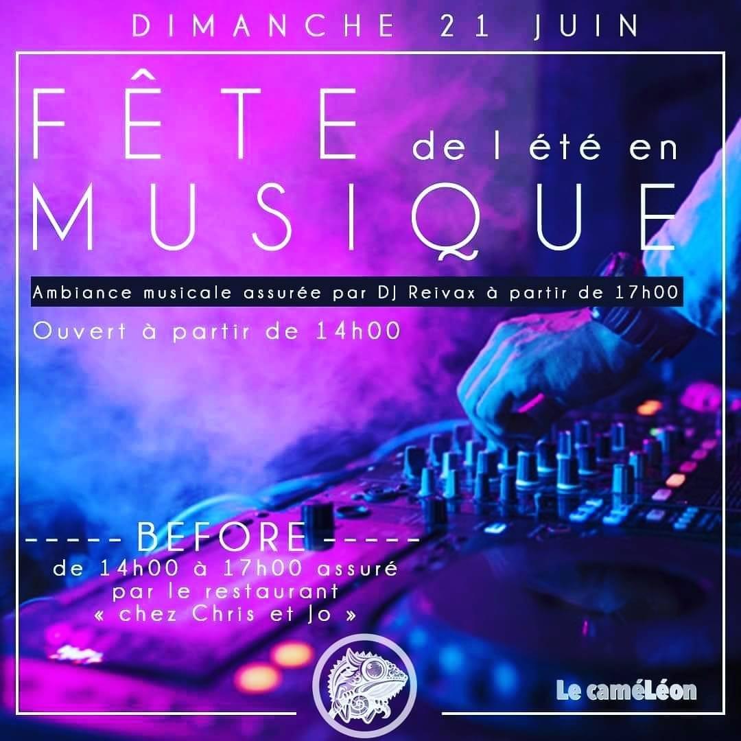 Fête de l'été en musique au Caméléon