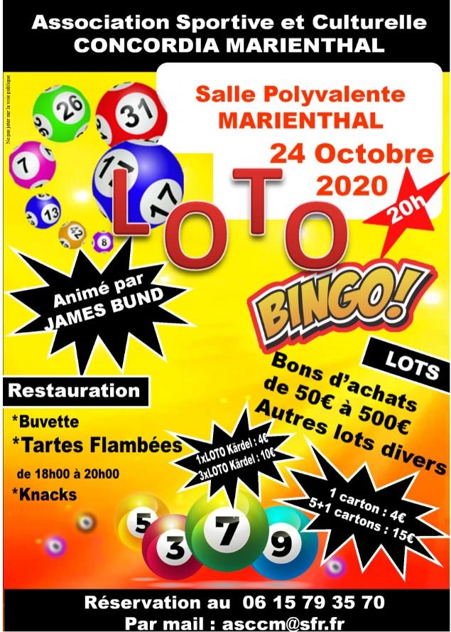 Annulé - Loto bingo à Marienthal