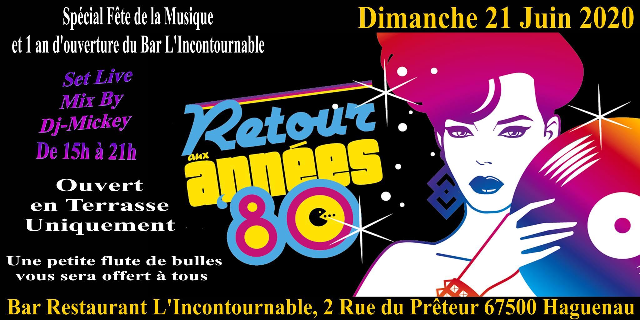Live Mix Dj-Mickey - Années 80 L'Incontournable