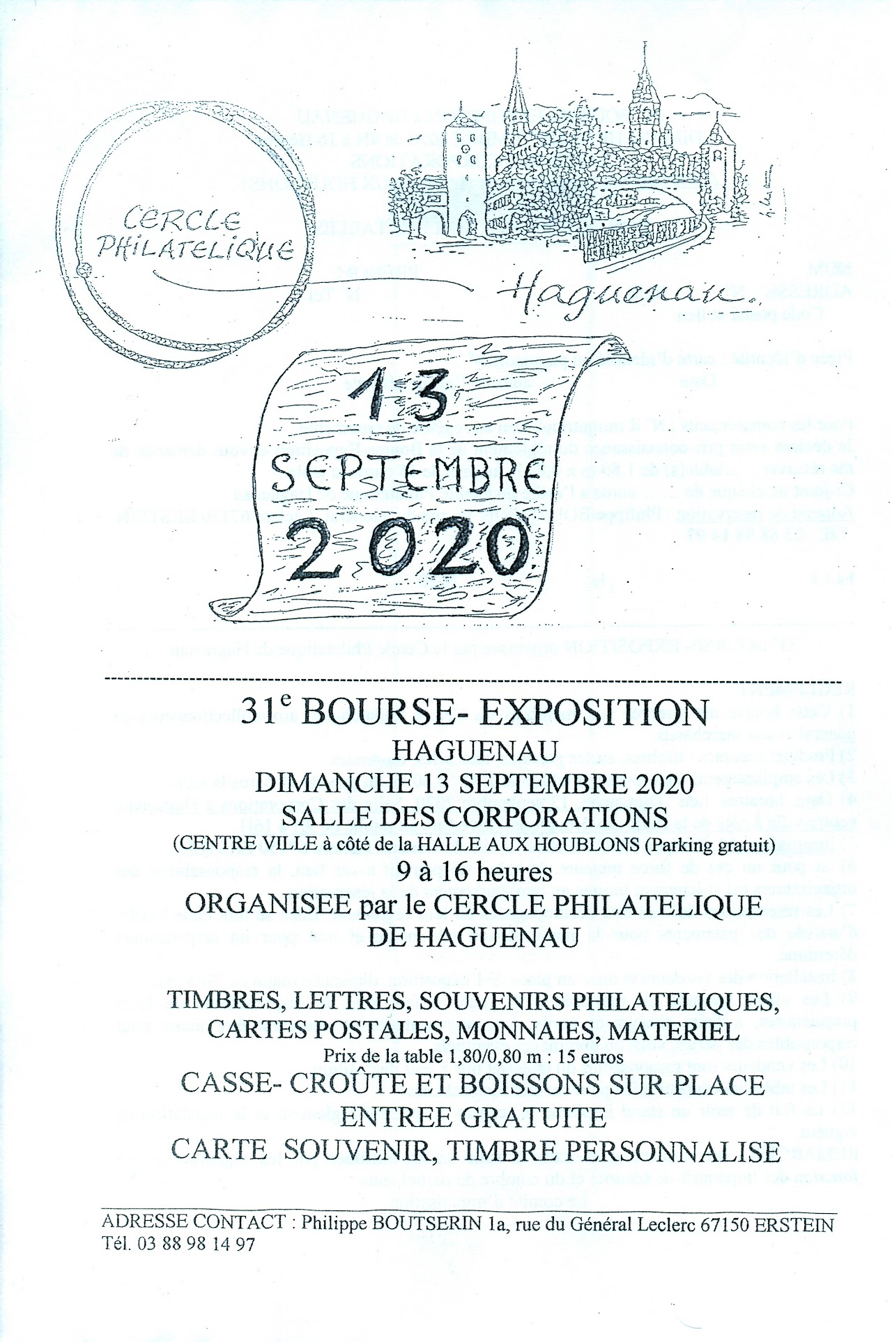 Bourse Exposition Philatelique