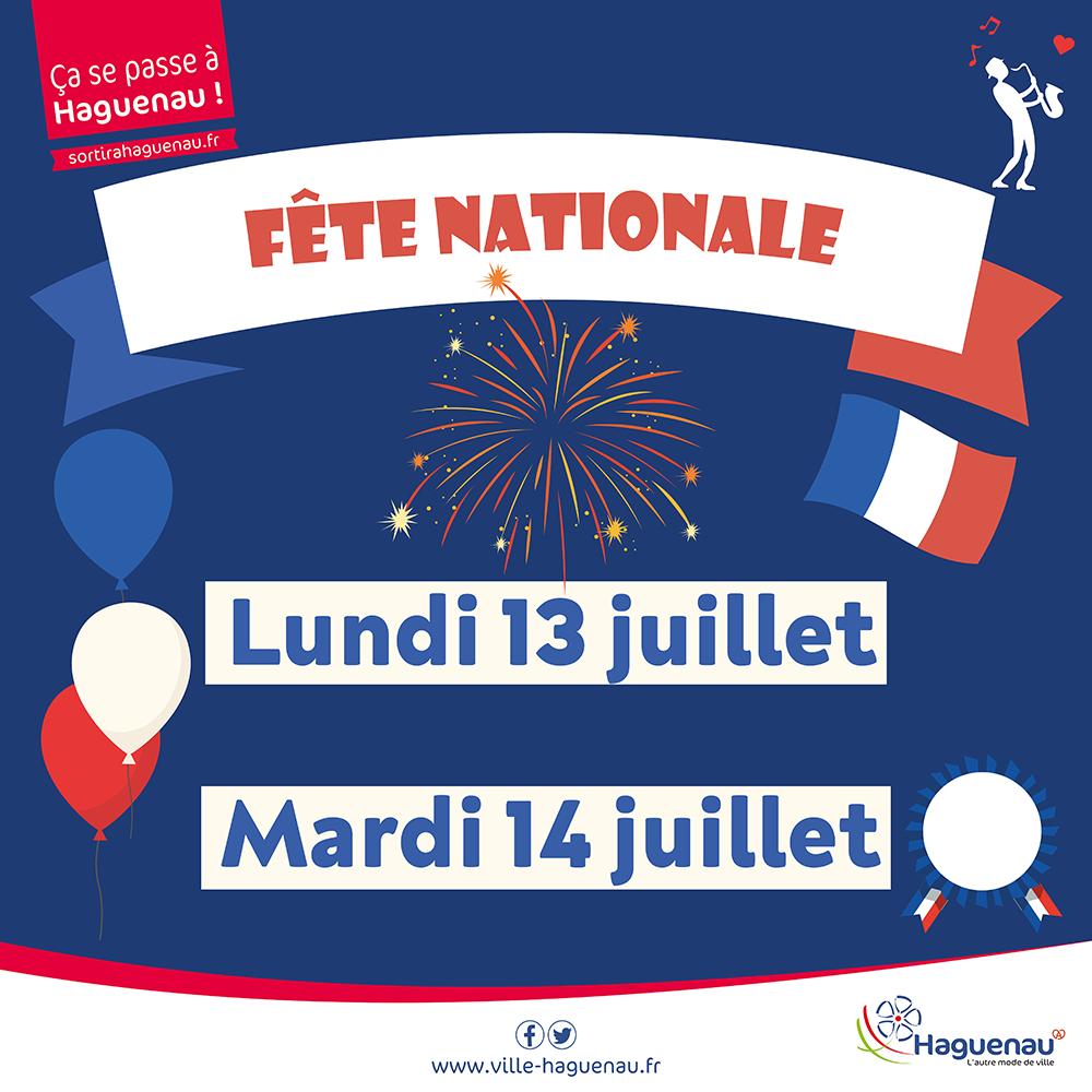 Célébrations de la Fête Nationale