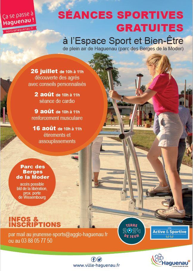 Séance sportive gratuite à l'Espace Sport et Bien-Être