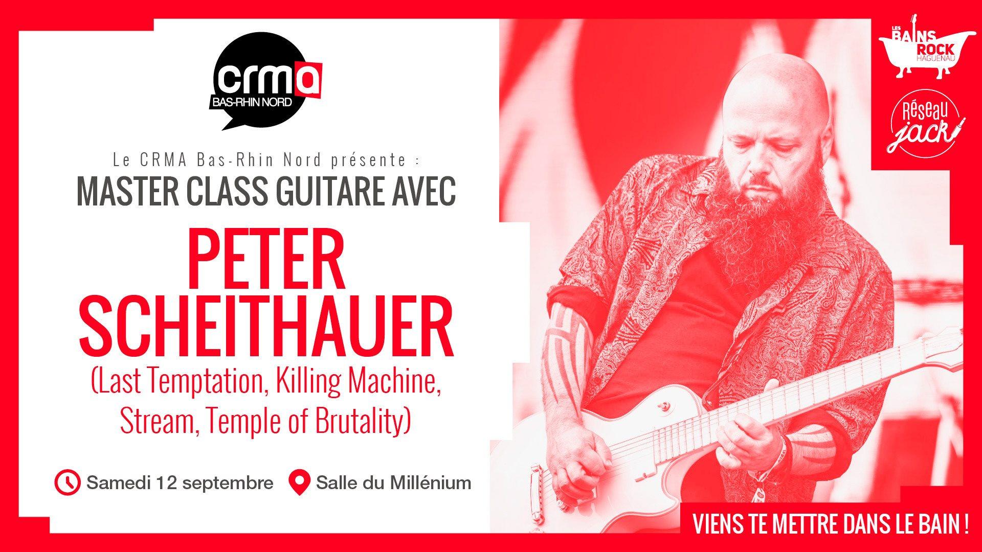 Masterclass guitare avec Peter Scheithauer
