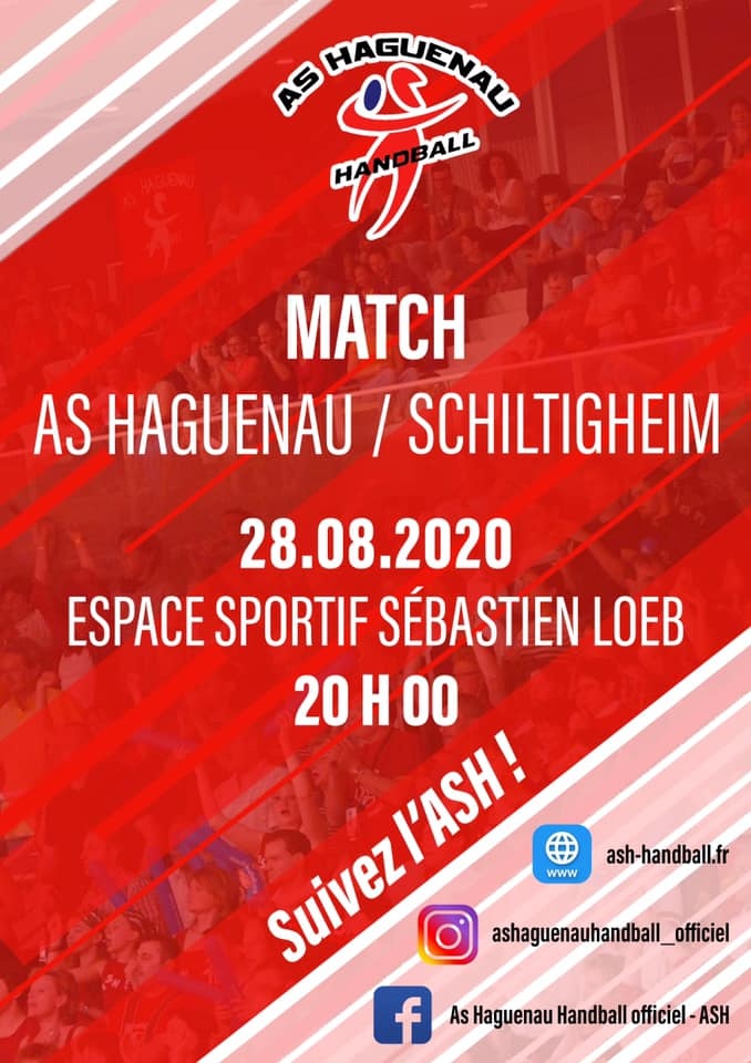 Handball : AS Haguenau - Schiltigheim