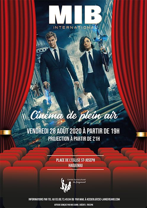 Cinéma de plein air - Men in Black : International