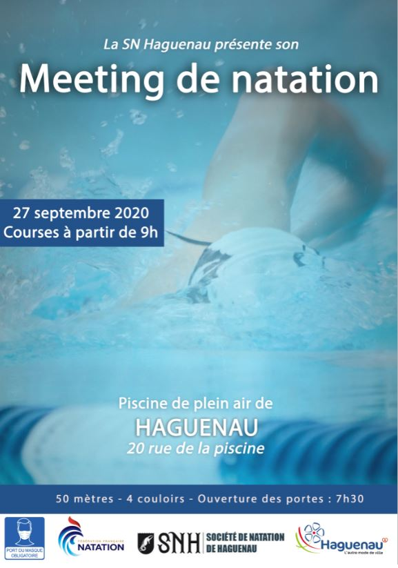 Meeting de natation sportive