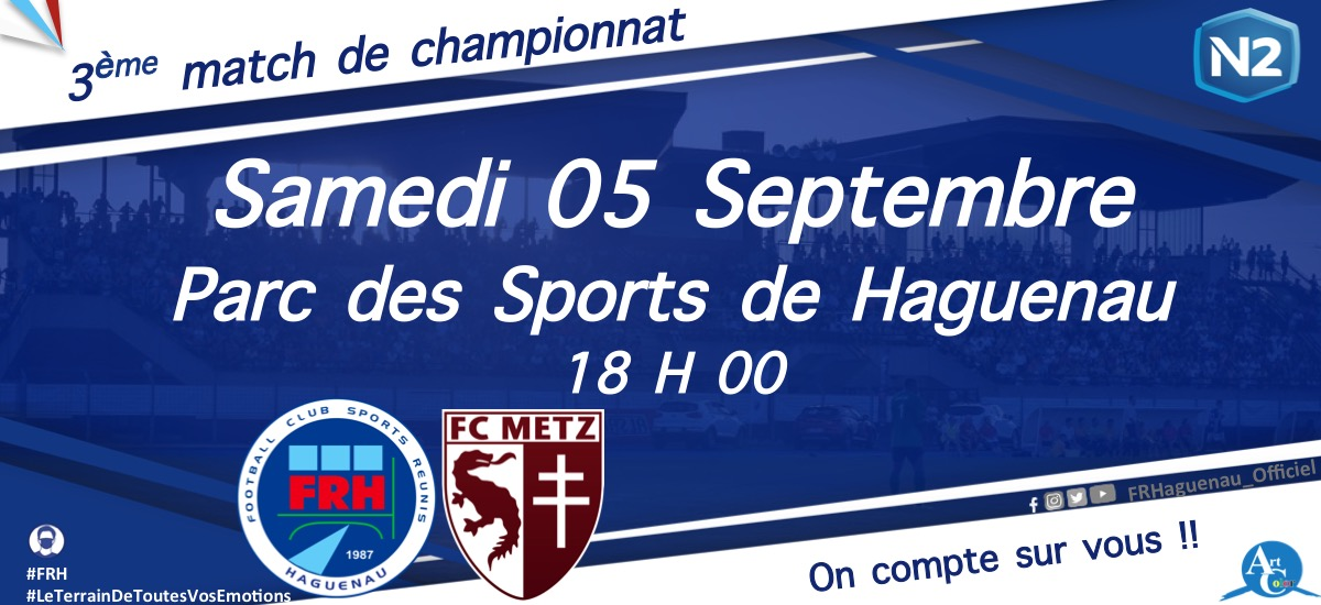 Football - FR Haguenau - FC Metz (National 2)