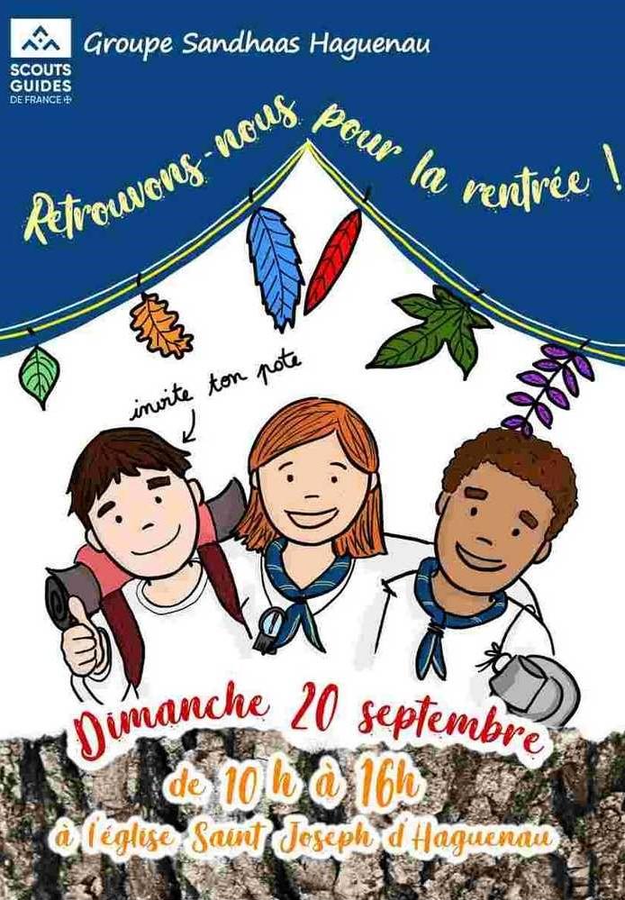 Rentrée des Scouts et Guides de France