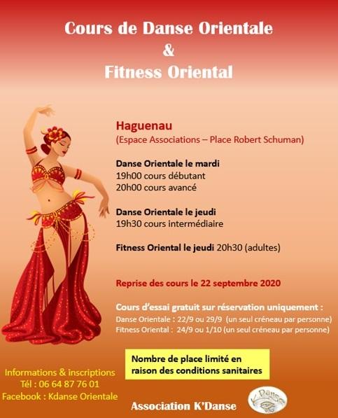 Danse orientale et fitness oriental