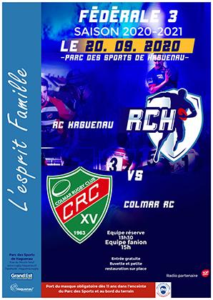 Rugby Fédérale 3 - RC Haguenau / RC Colmar