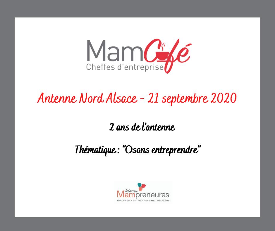 MamCafé Septembre : Les 2 ans de l'antenne