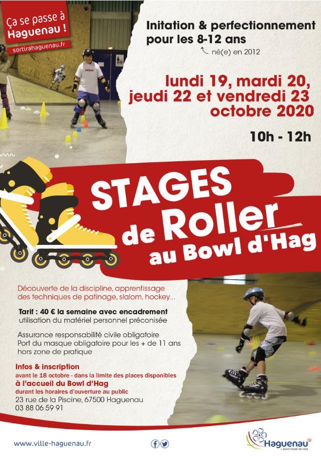 Stage de roller - 8/12 ans