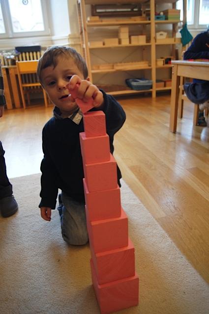 atelier Montessori pour enfants
