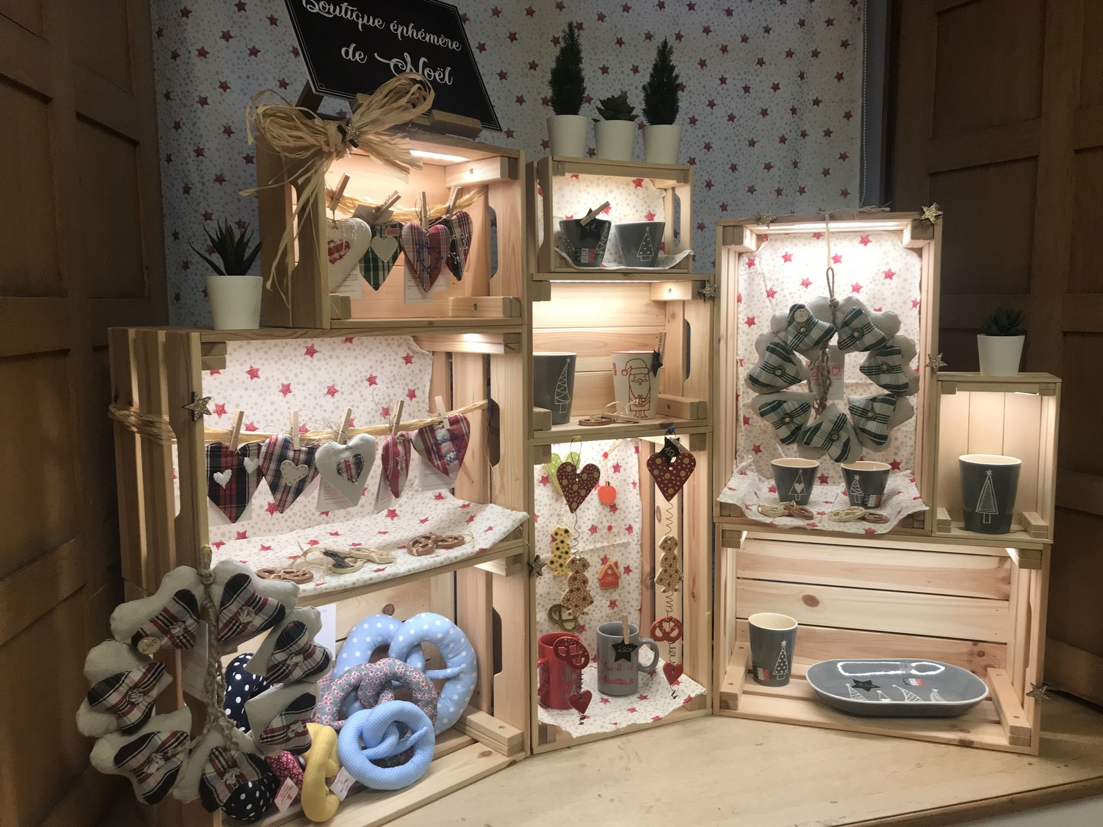 La boutique de Noël de l'Office de Tourisme