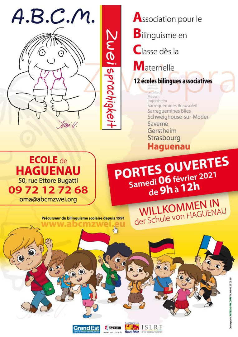 Reporté - Portes Ouvertes Ecole A.B.C.M. Zweisprachigkeit Haguenau