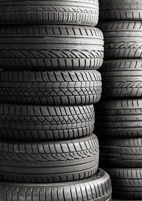 Collecte de pneus