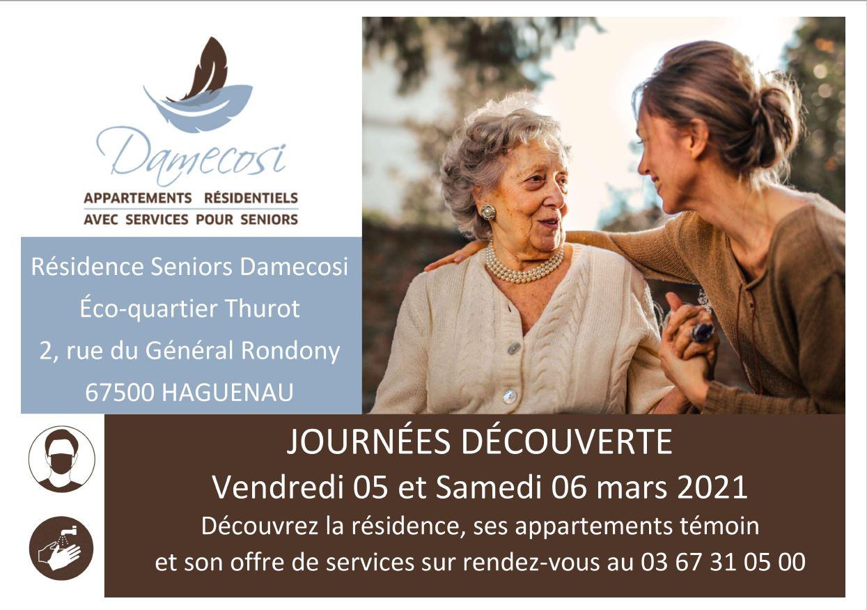 Journées découverte à la Résidence Seniors DAMECOSI
