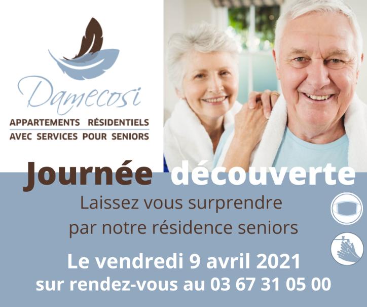 Journée Découverte de la résidence Seniors DAMECOSI Haguenau