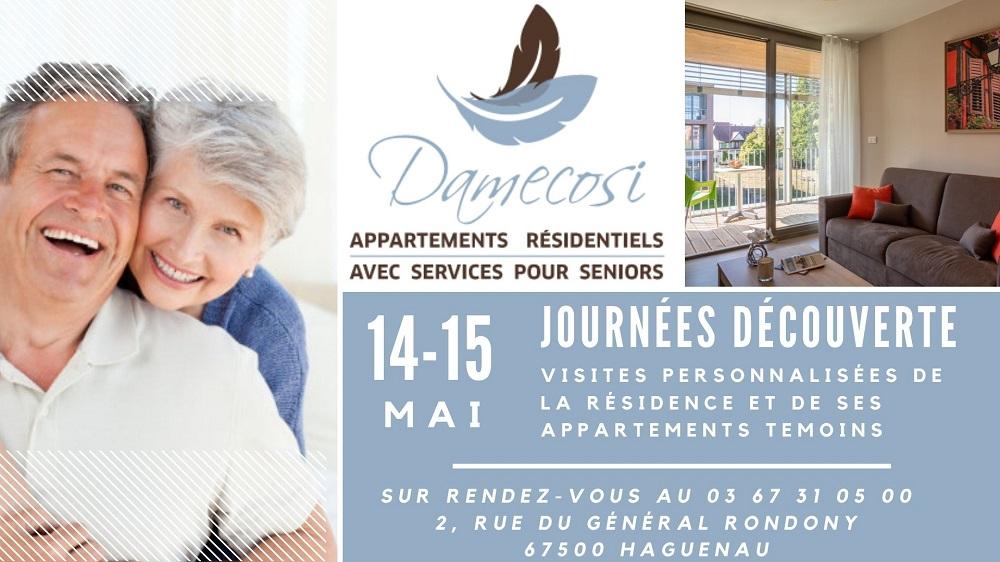 Journées Découverte de la résidence Seniors DAMECOSI Haguenau