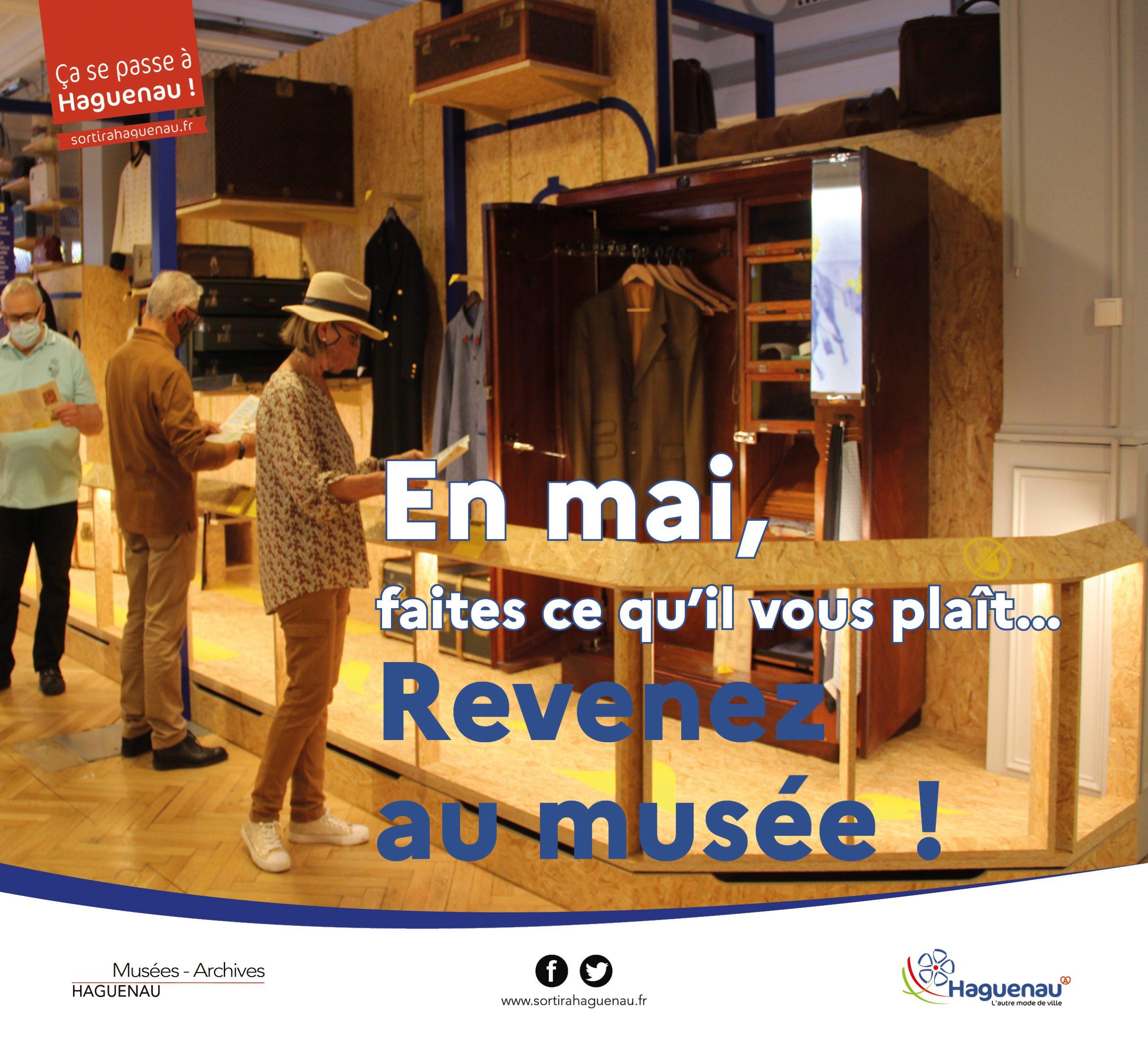 Le Musée du Bagage et le Musée Historique ouvrent !