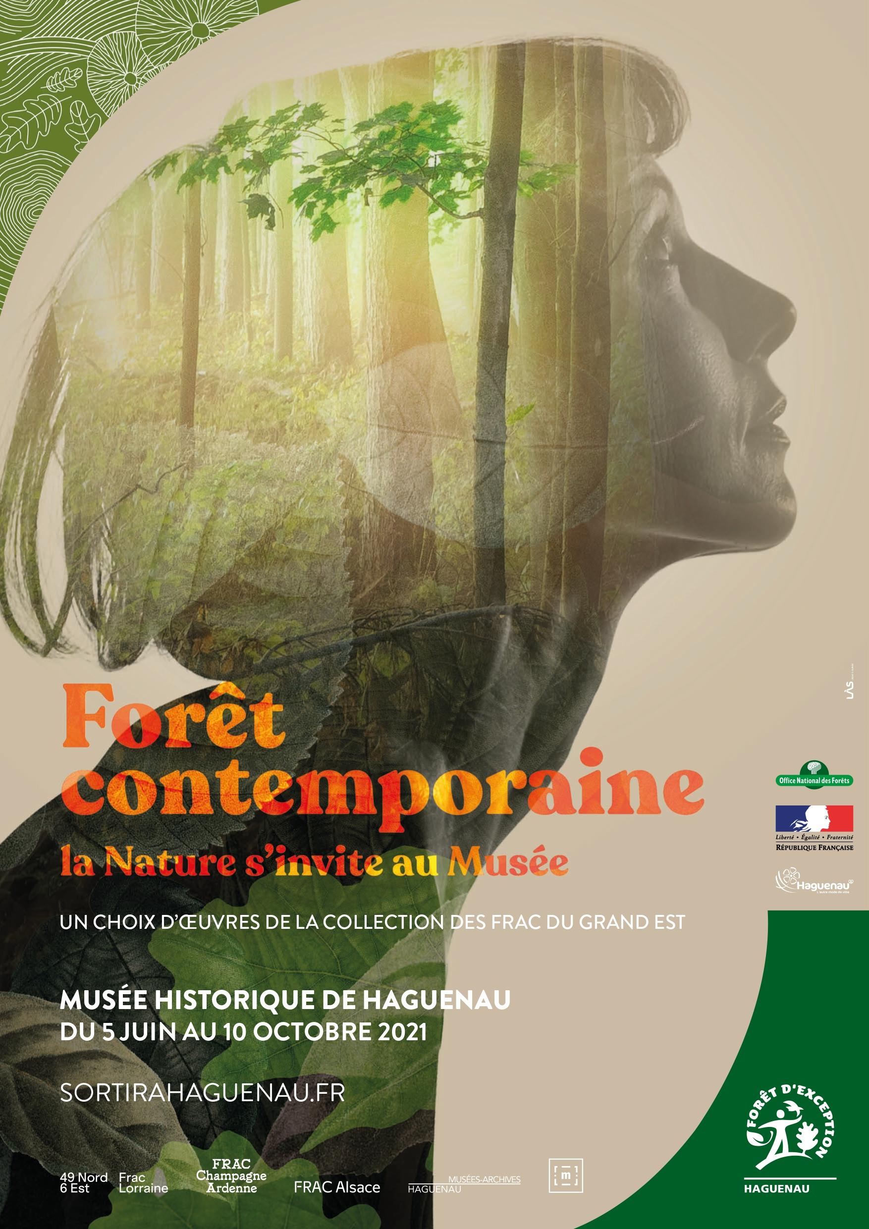 """Exposition """"Forêt contemporaine, la Nature s'invite au Musée - Un choix d'œuvres de la collection des FRAC du Grand Est"""""""