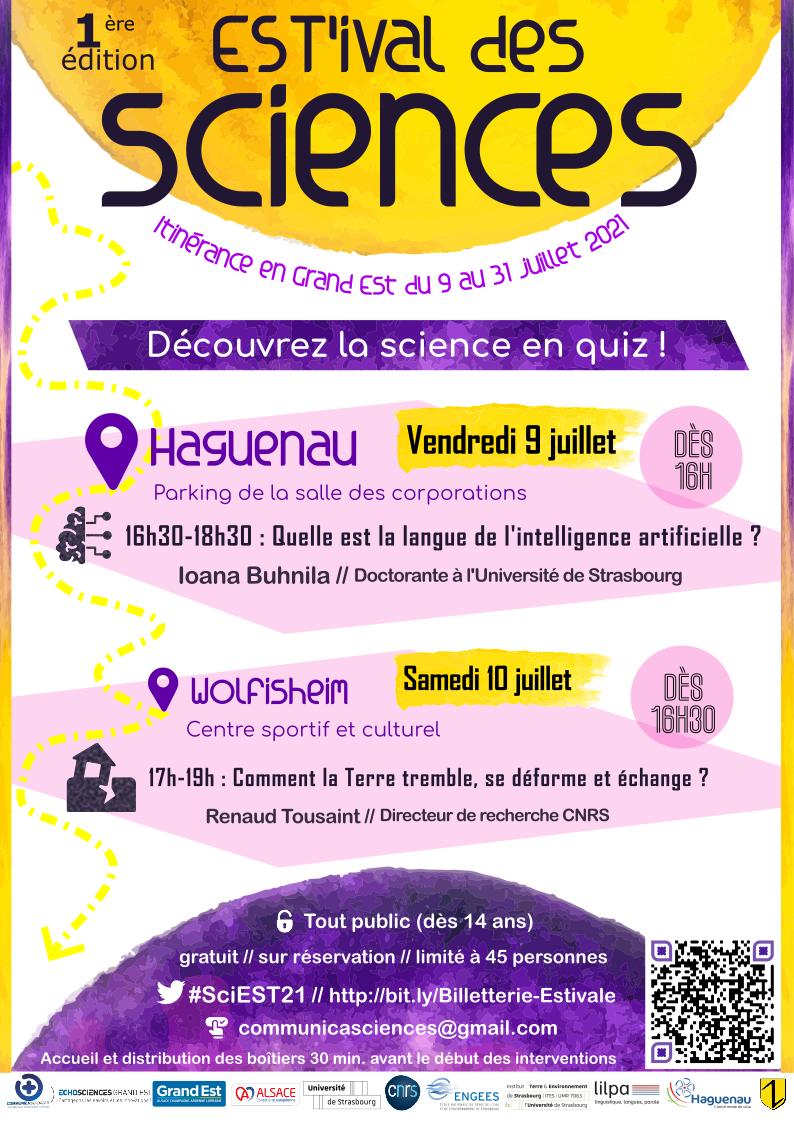 L'EST'ival des sciences à Haguenau !
