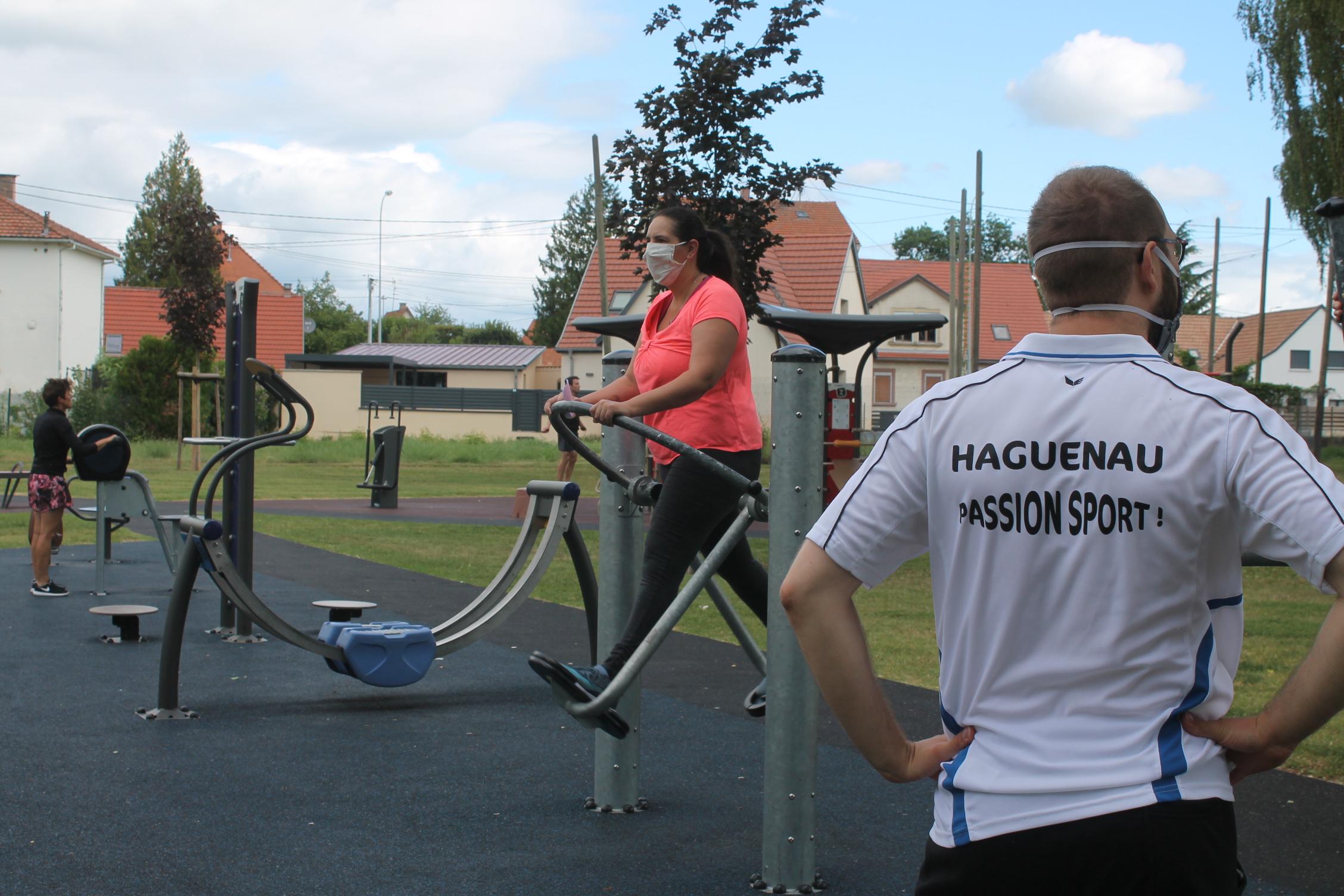 Du sport en plein-air à l'Espace Sport et Bien-être du Parc des Berges de la Moder !