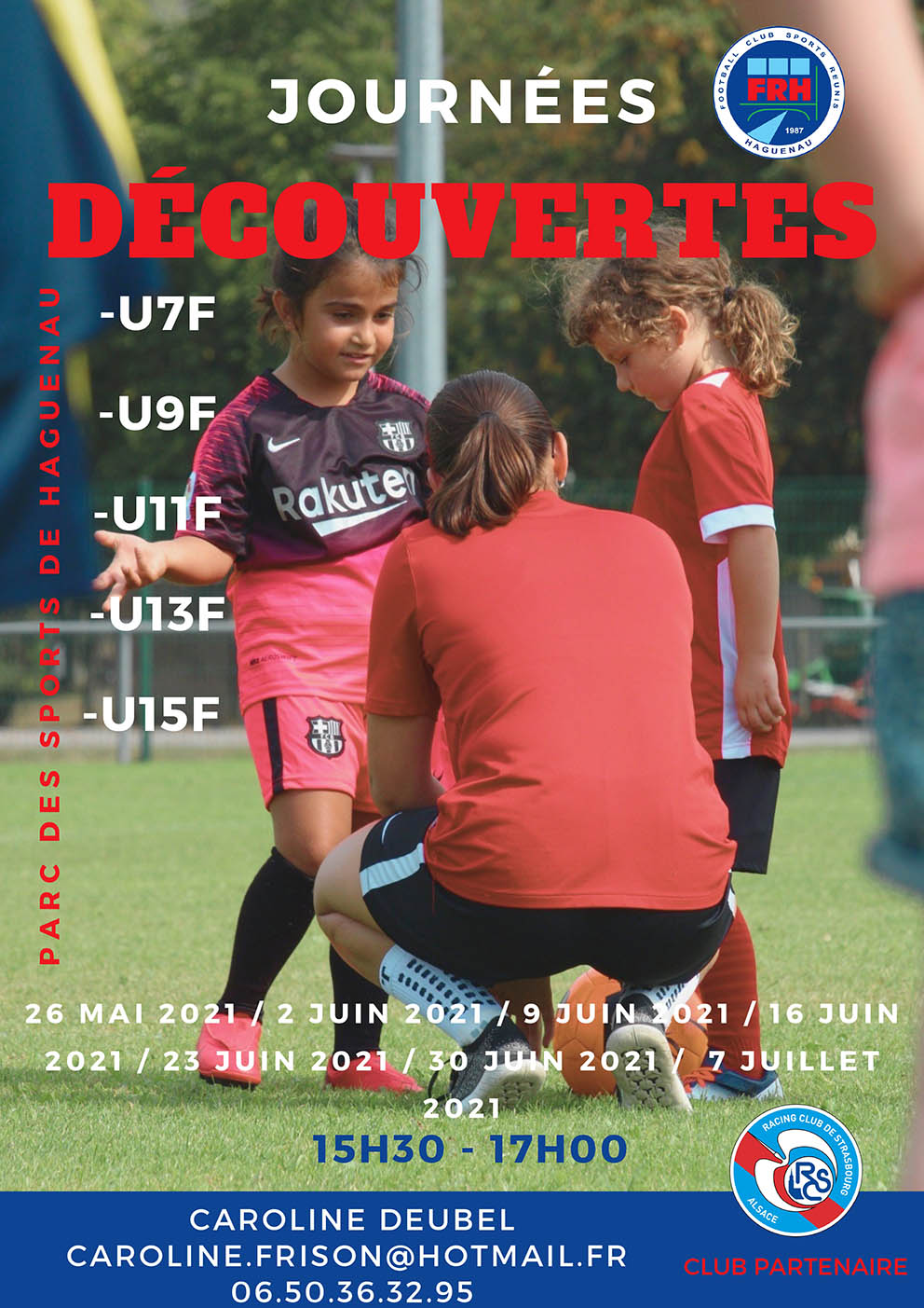 Journées découvertes Football Féminin