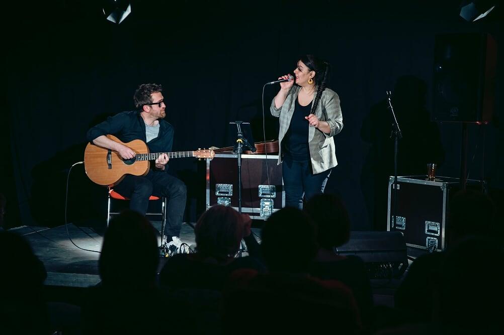 Leila en concert