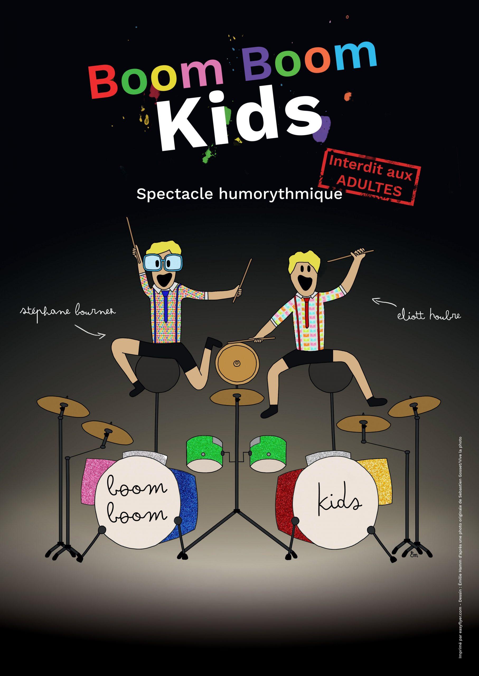 Boom Boom Kids - show jeune public